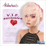 Winter Hair With Love Fades HUD September 2018 Group Gift by KoKoLoReS - Teleport Hub - teleporthub.com