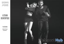 The A Team Couple Pose September 2018 Group Gift by Dorey Poses - Teleport Hub - teleporthub.com
