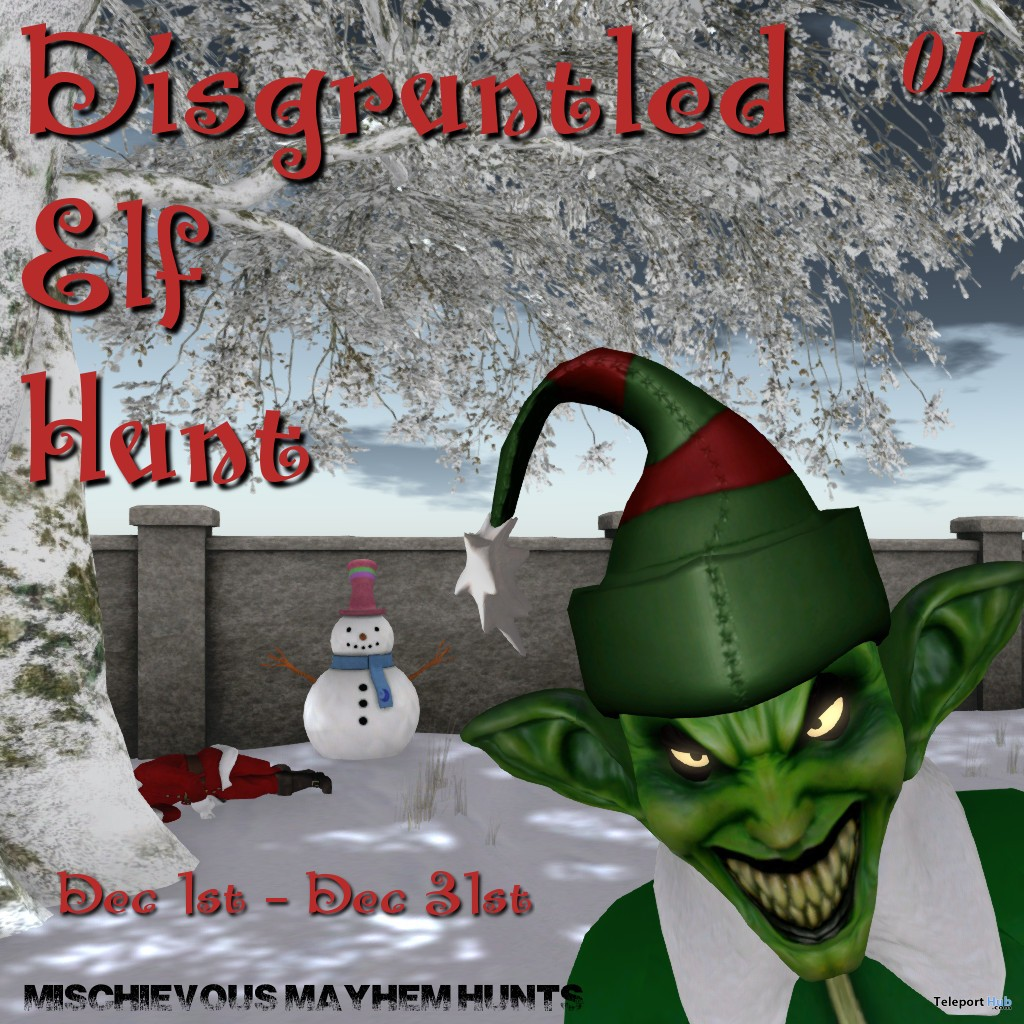 Mischievous Mayhem's Disgruntled Elf Hunt - Teleport Hub - teleporthub.com