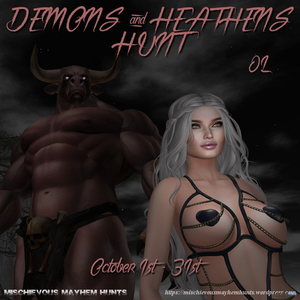Mischievous Mayhem's Heathens & Demons Hunt - Teleport Hub - teleporthub.com