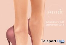 Pink Heels September 2018 Subscriber Gift by PROMAGIC - Teleport Hub - teleporthub.com