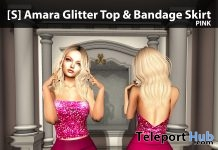 New Release: [S] Amara Glitter Top & Bandage Skirt by [satus Inc] - Teleport Hub - teleporthub.com