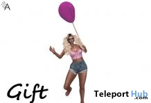 Balloon September 2018 Gift by Almita - Teleport Hub - teleporthub.com