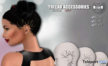 Tree Ear Cuffs September 2018 Subscriber Gift by [Since 1975] - Teleport Hub - teleporthub.com