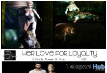 Her Love For Loyalty & Forbidden Poses September 2018 Group Gift by Something New - Teleport Hub - teleporthub.com