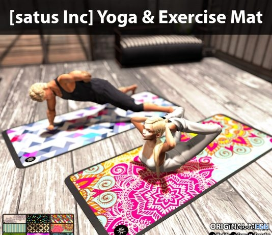 New Release: Yoga & Exercise Mat by [satus Inc] - Teleport Hub - teleporthub.com