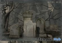 Gravestones October 2018 Group Gift by DRD - Teleport Hub - teleporthub.com