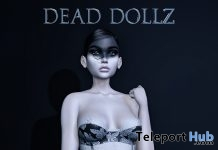 Imogen Halloween Outfit October 2018 Group Gift by Dead Dollz - Teleport Hub - teleporthub.com