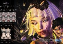 Ventriloquist Facewound & Bonus October 2018 Group Gift by Axix - Teleport Hub - teleporthub.com