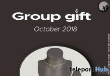Aeryn Jewelry Set October 2018 Group Gift by Petit Chat - Teleport Hub - teleporthub.com