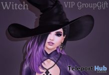 Witch Hair October 2018 Group Gift by Limerence - Teleport Hub - teleporthub.com