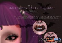 Halloween Party Lipgloss Collection October 2018 Group Gift by VERA - Teleport Hub - teleporthub.com