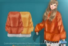 Angola Knit Tunic One-Piece Halloween 2018 Group Gift by {amiable}- Teleport Hub - teleporthub.com