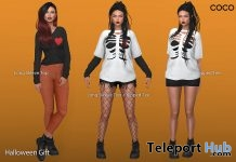 Long Sleeve Top & Ripped Tee Halloween 2018 Group Gift by COCO Designs- Teleport Hub - teleporthub.com