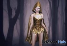 Absinthe Dress & Cloak Halloween 2018 Group Gift by Baiastice - Teleport Hub - teleporthub.com