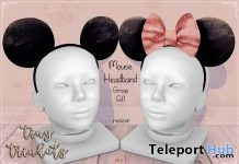 Mouse Headband October 2018 Group Gift by Tiny Trinkets - Teleport Hub - teleporthub.com
