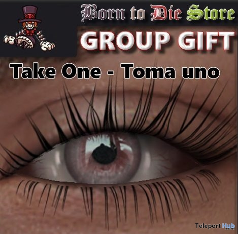 Mesh Eyes Red & Pink Group Gift by BORN TO DIE - Teleport Hub - teleporthub.com
