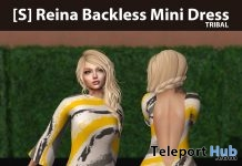 New Release: [S] Reina Backless Mini Dress by [satus Inc] - Teleport Hub - teleporthub.com