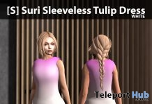 New Release: [S] Suri Sleeveless Tulip Dress by [satus Inc] - Teleport Hub - teleporthub.com