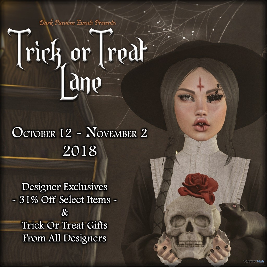 Trick Or Treat Lane Event - Teleport Hub - teleporthub.com