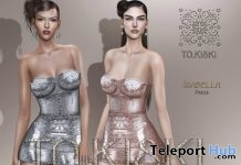 New Release: Isabella Mini Dress by TO.KISKI @ Sense Event October 2018 - Teleport Hub - teleporthub.com
