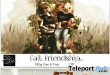 Fall Friendship & Halloween Framed Group Pose October 2018 Group Gift by Something New - Teleport Hub - teleporthub.com