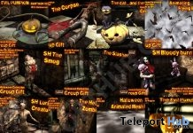 Several Halloween 2018 Group Gifts by Daffy's Gadgetmania - Teleport Hub - teleporthub.com