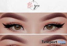 Pack With Two Eyeliners For Catwa Head October 2018 Group Gift by Be You - Teleport Hub - teleporthub.com