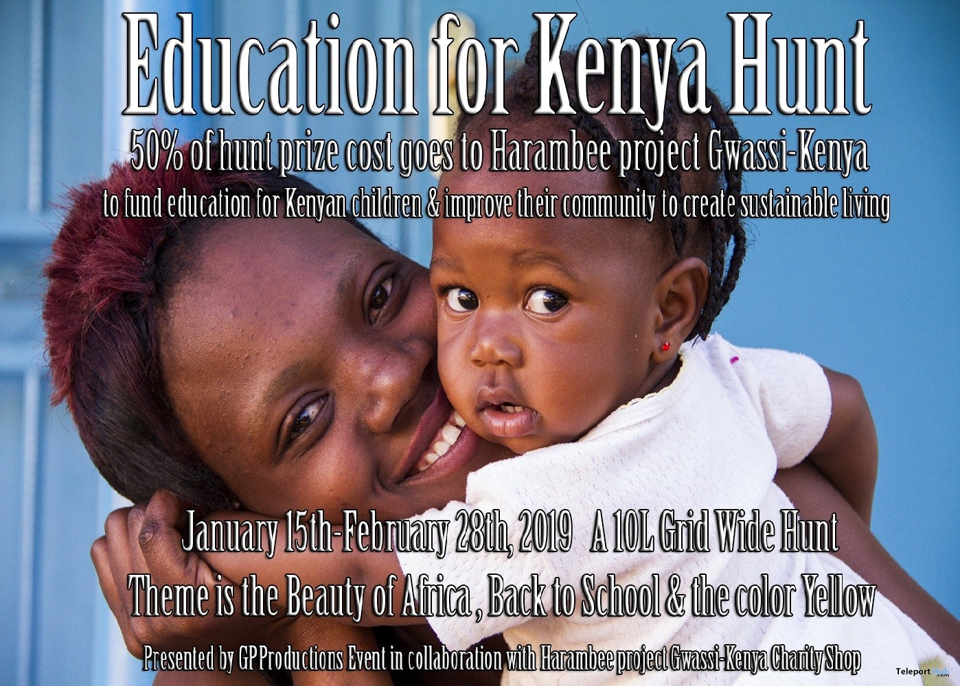 Education for Kenya Hunt - Teleport Hub - teleporthub.com