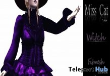 Corset Dress Halloween 2018 Group Gift by Miss Cat Store - Teleport Hub - teleporthub.com