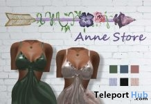 Lola Silk Dress 1L Promo Gift by Anne Store - Teleport Hub - teleporthub.com
