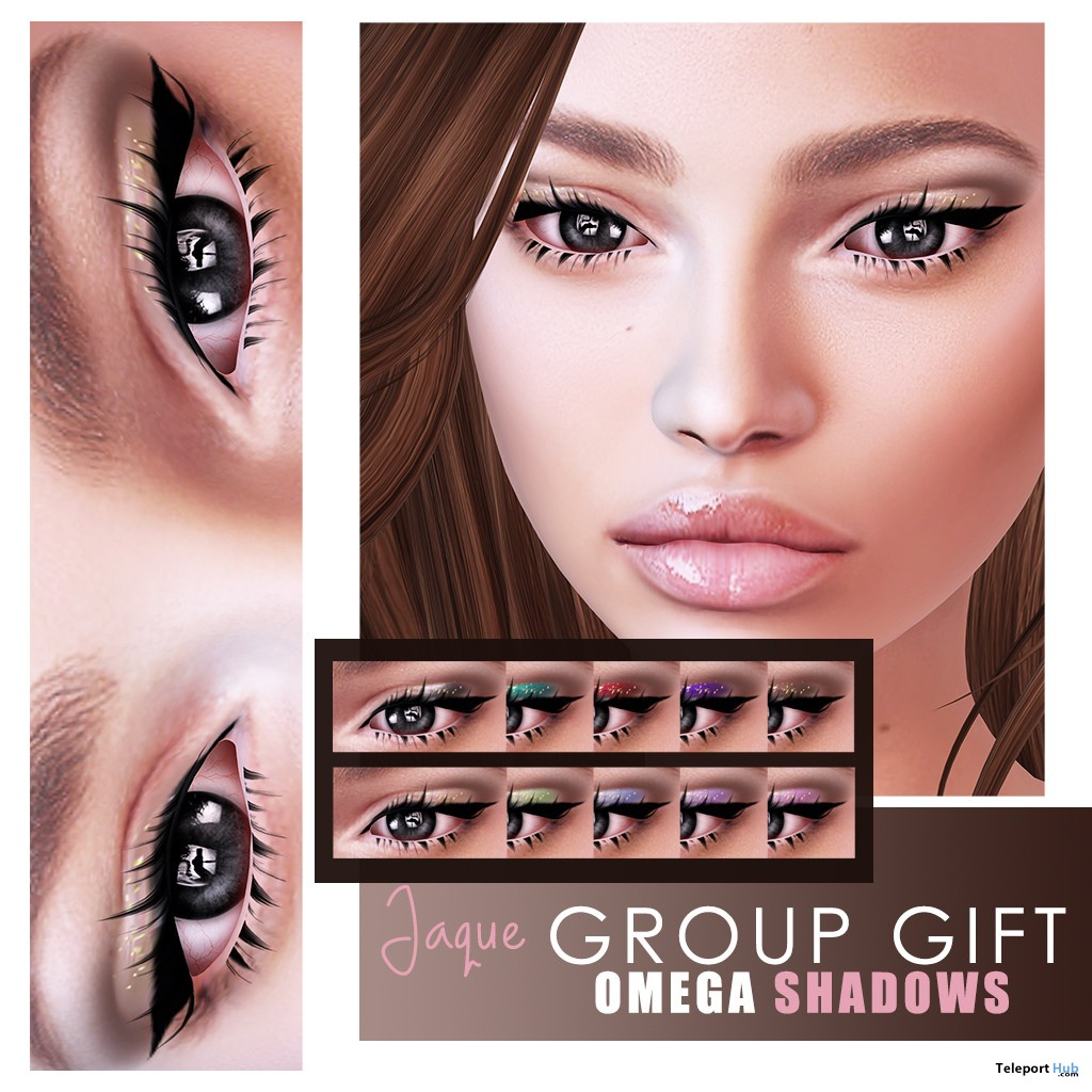 Jaque Eyeshadows Pack November 2018 Group Gift by Slackgirl - Teleport Hub - teleporthub.com