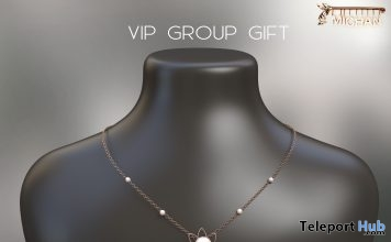 Mabel Necklace November 2018 Group Gift by MICHAN - Teleport Hub - teleporthub.com