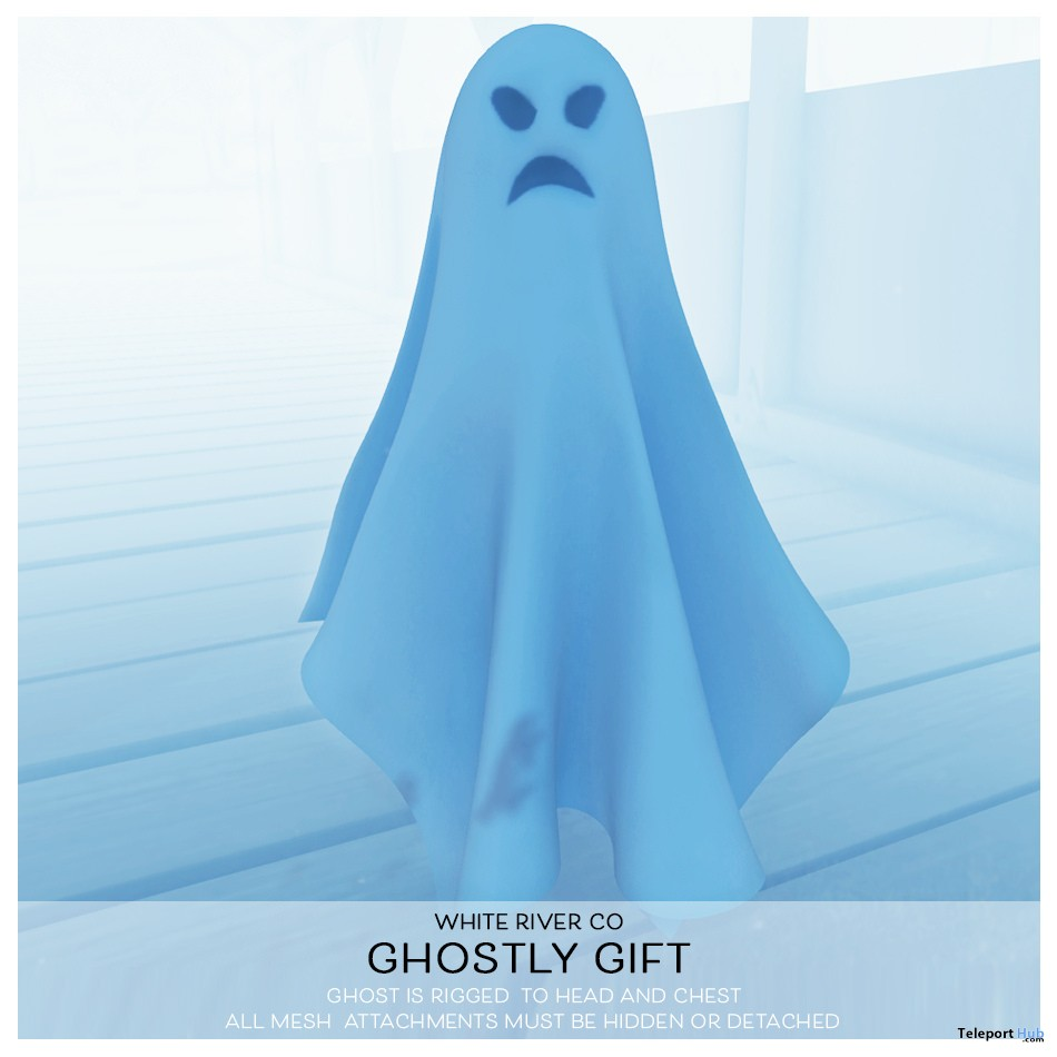 Ghostly Halloween 2018 Gift by White River Co. - Teleport Hub - teleporthub.com