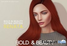 Anais Akeruka Head & Renata Catwa Head Appliers Fatpack November 2018 Group Gifts by Bold & Beauty - Teleport Hub - teleporthub.com