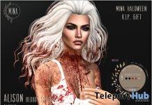 Alison Hair Bloody Special Halloween 2018 Group Gift by MINA Hair - Teleport Hub - teleporthub.com