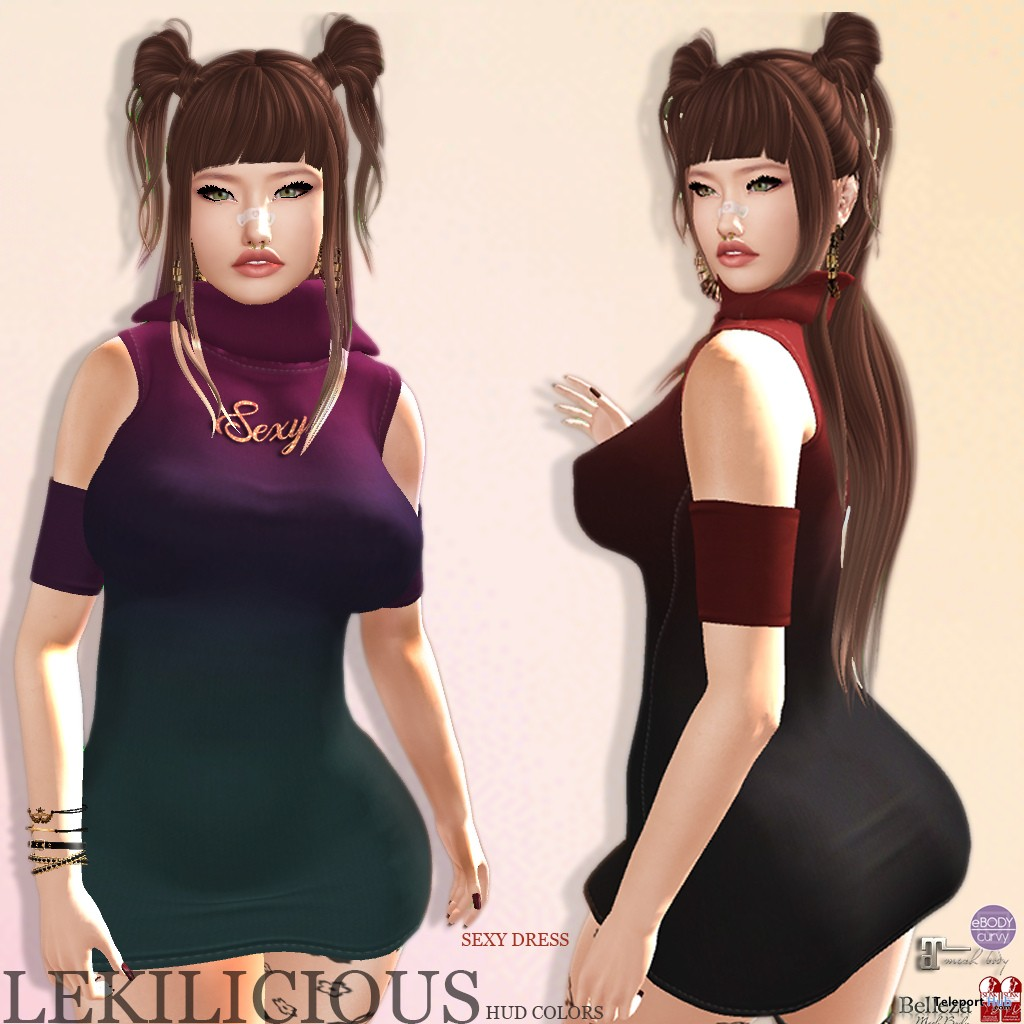 Sexy Dress November 2018 Group Gift by Lekilicious Store - Teleport Hub - teleporthub.com