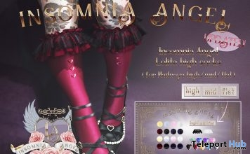 Lolita High Socks Fatpack November 2018 Group Gift by Insomnia Angel - Teleport Hub - teleporthub.com
