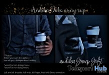 Take Away Cup November 2018 Group Gift by Andika - Teleport Hub - teleporthub.com