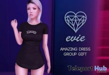 Amazing Dress November 2018 Group Gift by EVIE - Teleport Hub - teleporthub.com