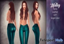 Halley Leather Pants November 2018 Group Gift by The Beautiful Ones - Teleport Hub - teleporthub.com