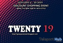 Twenty19 Sale Event 2019 - Teleport Hub - teleporthub.com