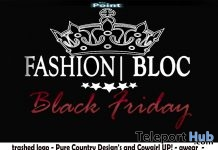 Black Friday Fashion Bloc Event 2018 - Teleport Hub - teleporthub.com