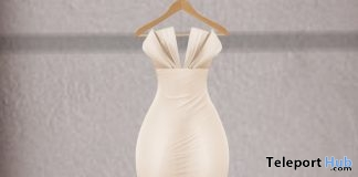 Bridget Cream Gown Group Gift by Junbug - Teleport Hub - teleporthub.com