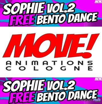 Sophie 31 Bento Dance Gift by MOVE! Animations Cologne - Teleport Hub - teleporthub.com