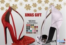 Christmas Heels Fatpack December 2018 Group Gift by Hilly Haalan - Teleport Hub - teleporthub.com