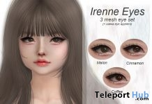 Irenne Mesh Eyes & Catwa Applier December 2018 Gift by Xuxu. - Teleport Hub - teleporthub.com