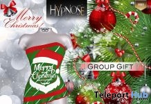 Merry Christmas Dress December 2018 Group Gift by HYPNOSE - Teleport Hub - teleporthub.com