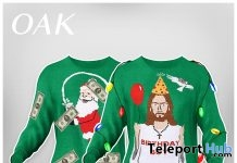 Ugly Xmas Sweater December 2018 Group Gift by THE OAK - Teleport Hub - teleporthub.com