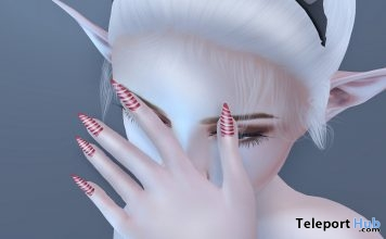 Candy Nails Appliers December 2018 Group Gift by Fika - Teleport Hub - teleporthub.com